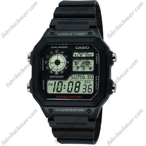 Часы Casio ILLUMINATOR AE-1200WH-1AVEF