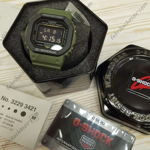 Часы Casio G-Shock DW-5610SU-3ER