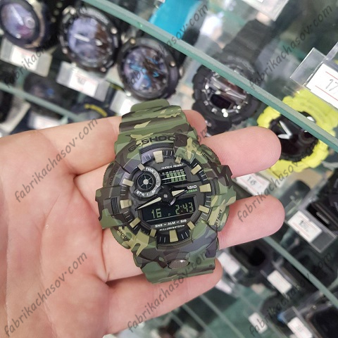 Часы Casio G-Shock GA-700CM-3AER
