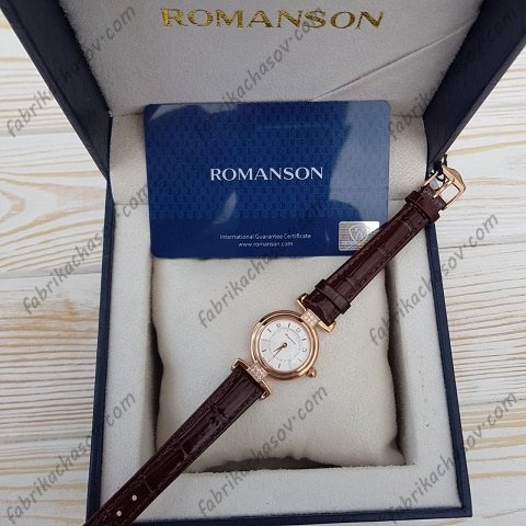 Женские часы Romanson RL6A33QLNRASR1