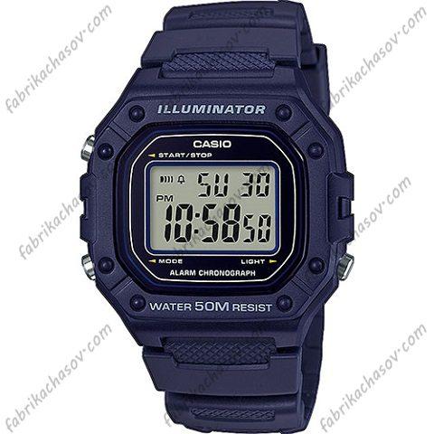 Часы Casio ILLUMINATOR W-218H-2AVEF