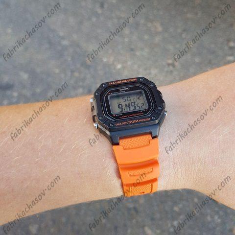 Часы Casio ILLUMINATOR W-218H-4B2V